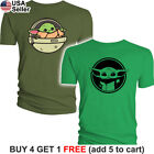 Baby Yoda T-Shirt The Mandalorian The Child Star Wars Asset Din Djarin Men $8.05 USD on eBay