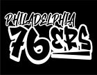Philadelphia 76ers Graffiti Custom Vinyl Decal Sticker for Car Laptop Window on eBay