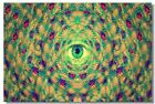 Poster Psychedelic Trippy Colorful Ttrippy Surreal Abstract Digital Art Print 59