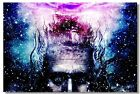 Poster Psychedelic Trippy Colorful Ttrippy Surreal Abstract Digital Art Print 50