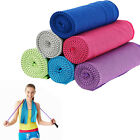 Travel Fitness Gym Sweat Ice Towel Instant Cooling Super Absorbent Fast Drying  image