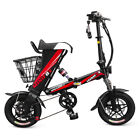 MINIFOX 12inch Folding Electric City Bike Bicycle Moped E-Bike 250W Bike EU J1L9