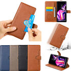 Mens Luxury Flip Leather Wallet Case Card Slot Stand Holder Cover For Cell Phone