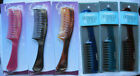 Goody Solid Plastic Curved Wide Spaced Teeth Tooth Detangling Hair Comb Detangle