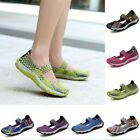 Ladies Mother Comfort Round Toe Mesh Breathable Shoes Size 35-42 Summer Leisure
