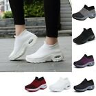 Women's Walking Shoes Sock Sneakers - Mesh Slip On Air Cushion Lady Girls 35-42