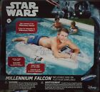Star Wars Millennium Falcon Inflatable Ride-On Water Pool Float 61 in x 46 in $40.0 USD on eBay