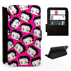 Betty Boop Pink Pattern - Flip Phone Case Cover - Fits Iphone / Samsung £9.98 GBP on eBay