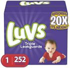 Kyпить  NEW LUVS Ultra Leakguards Baby Diapers Size 1, 2, 3. 4. 5, 6 CHEAP!!!  на еВаy.соm