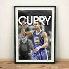 Stephen Curry Golden State Warriors NBA Autographed Poster Print. A3 A2 A1 on eBay