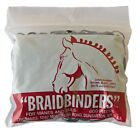 Braidbinders Mane and Tail Braiding Rubber Band 6 Bags of 600