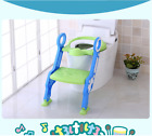 Trainer Toilet Potty Seat Chair Kids Toddler With Ladder Step Up Seat Cushion √ image