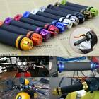 Colorful Motorbike Throttle Hand Grips Handlebar End Cap Plug for Kawasaki Z125 $13.66 USD on eBay