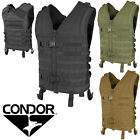 Condor MV Tactical Quick Release QR Padded MOLLE PALS Modular Cross Draw Vest