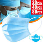 20/40X Disposable 3-layer Face Mouth Cover Anti-dust Filter