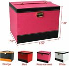Large Leather Jewelry Box Organizer Case Storage Necklace Earring Holder 4 Color