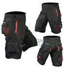 Mens Cycling MTB Shorts Baggy Style Bicycle Mountain Biking Pants Padded Liner