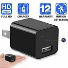 HD 1080P Hidden Mini Spy Camera Charger WiFi Adapter Home Security Night Vision $34.99 USD on eBay