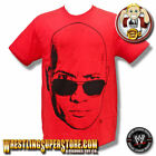 WWE The Rock Head Shot Adult Size T-Shirt image