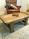 Rustic Handmade Wooden Coffee Table - Many Colours And Sizes.