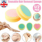 Hair Removal Depilation Sponge Pad Painless Magic Remove Hair Remover Reusable#