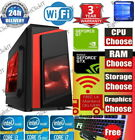 Ultra Fast Quad Core  I5 I7 Gaming Computer Pc 2tb+ssd 16gb Ram Gtx 1660 Win10