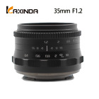 Kaxinda 35mm f/1.2 APS-C lens for Canon E0S-M Mount Mirrorless Camera