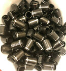 (12) Premium Collared Iron Ferrules With Silver Ring .355 or .370
