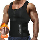 Kyпить Men's Sweat Vest Body Shaper Zipper Slimming Sauna Tank Top Neoprene Sport Shirt на еВаy.соm