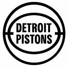 nba019 Detroit Pistons logo Die Cut Vinyl Graphic Decal Sticker NBA Basketball on eBay