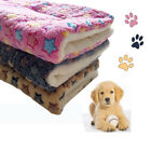 FJ- PET WASHABLE HOME BLANKET CATS DOG BED CUSHION MATTRESS KENNEL SOFT CRATE MA