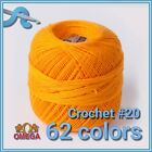 Kyпить Omega Crochet No.20 [30grs] - 100% Mercerized Cotton Yarn | Omega Crochet Thread на еВаy.соm