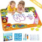 Betheaces Water Drawing Mat Aqua Magic Doodle Kids Toys Mess Free Coloring Paint