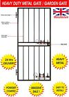 HEAVY DUTY STEEL SECURITY DOOR, GATE, METAL GARDEN SIDE GATE / WROUGHT IRON GATE