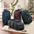 Kyпить NEW-Travelers Club 30 Inch Xpedition Multi-Pocket Rolling Duffel -Choose Color на еВаy.соm