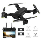 Drone X Pro WIFI FPV HD Dual Camera Foldable Selfie RC Quadcopter Kid Toy Gift