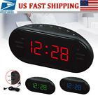 AM/FM PLL Digital Tuning DUAL ALARM CLOCK Radio LARGE Amber LED Display Green