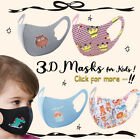 Kyпить Kids Toddler Face Mask 2 Pack Reusable Washable Protection Cover Breathable  на еВаy.соm