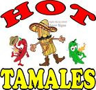 Hot Tamales DECAL (CHOOSE YOUR SIZE) Mexican Food Truck Concession Vinyl Sticker