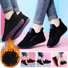 Womens Breathable Running Walking Shoes Winter Warm Sneakers Sports Shoes SIZE