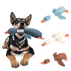 Cartoon Wild Goose Plush Dog Toys Squeaky Sound Pet Teeth Puppy Dogs Chew Toy 9K