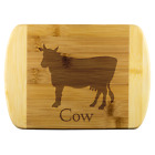 Cow Cutting Board, wooden cutting boards, Décor cutting boards, Farm house, bamb
