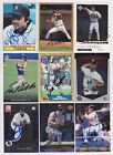 Detroit Tigers Signed auto cards PICK LIST 1.39-4.99 each autograph MLB on Ebay