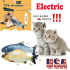 Cat Toys Gifts Wagging Fish Electric Realistic Plush Simulation Interactive Fish