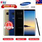"New In Sealed 6.3""samsung Galaxy Note 8 N950f 6g/64gb Colors 1yr Wty Free Gifts"