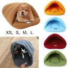 Pet House Cave Pet Sleeping Bed Mat Pad Cushion Igloo Nest Cat Dog Puppy Winter