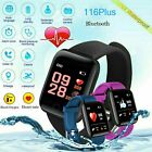 Fitness Activity Tracker Smart Watch Band Heart Rate Oxygen Blood Pressure Sport