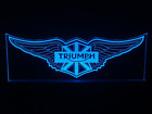 Triumph LED Sign + Remote Control. Bar Sign,Mancave, Light, Gift, Motorcycle $365.0 AUD on eBay