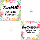 Sew Art + SewWhat -Pro Embroidery Software for  Windows & Mac ✅