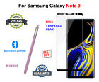 S Pen For Samsung Galaxy NOTE 9 + FREE Tempered Glass Bluetooth Stylus - PURPLE